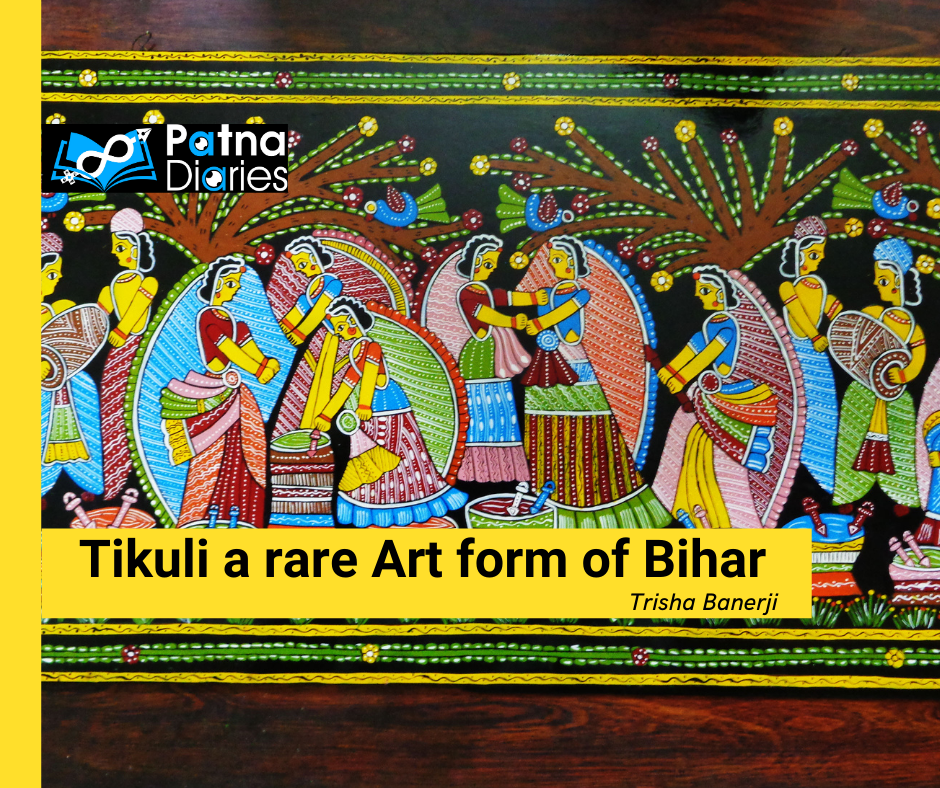 Tikuli a rare Art form of Bihar